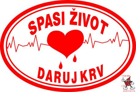 crveni kriz daruj krv spasi zivot vidi drugaèije